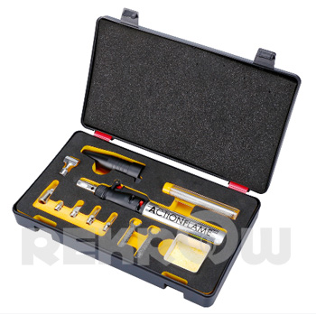 Butane Powered Soldering Iron Tool Kit with U.S. CPSC Child-Resistance Standard,Multi-Purpose Type Kit
